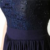 La robe de retours au pays une ligne lacet perle la robe de bal d'étudiants de cocktail