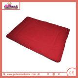 Warmes weiches Vlies mit Bambusfaser-Hundebett im Rot, erhältlich in 5 Farben