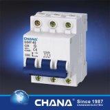 1p+N 63A 3ka/4.5ka MiniStroomonderbreker MCB met Indicator