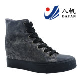 2017 New Woman Wedge Sneakers Sapatos Casual Bf170108