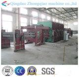 Maquinaria de vulcanización de la prensa de la banda transportadora de la base de la materia textil