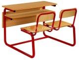 耐摩耗性の二重学校のベンチの机セット