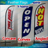 Определите или Double Sided Flying Beach Feather Flag (SC-NF04F06070)