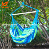 Outdoor Canvas Striped Hanging Hammock Rope Swing Seat Chair Porch