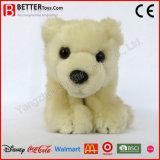 Urso polar enchido bonito do brinquedo para o bebê