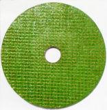 roue verte du découpage 4inch pour l'acier inoxydable et l'acier