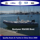 Barca gonfiabile rigida di Rib580A