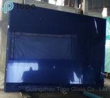 4mm-10mmの濃紺の染められた浮遊物の建物ガラス(C-dB)