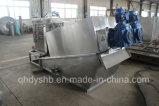 沈積物の処置の排水処理プロセスで使用される排水の手回し締め機
