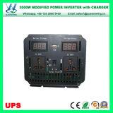 充電器(QW-M3000UPS)が付いている格子力インバーターを離れたUPS 3000W