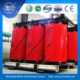 transformador Dry-Type da distribuição da resina refrigerada a ar do molde 35kv com caso da proteção