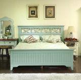 Festes hölzernes Bett-moderne doppelte Betten (M-X2258)