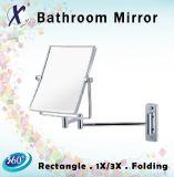 Espejo cosmético plegable y extensible de la pared del rectángulo (J5153)