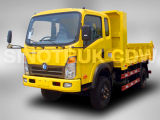 Sinotruk Cdw 757 화물 자동차 트럭 4X2 소형 덤프 트럭