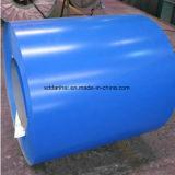 L'acier galvanisé enduit d'une première couche de peinture enroule la plaque en acier de PPGI