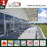 Arch Dome Roof Double / Triple Decker Tenda do Evento Esportivo com Galss Walls for Golf Events