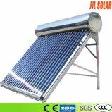 Systeem van de Verwarmer van het Water van de Pijp van de hitte het Zonne met ZonneCollector