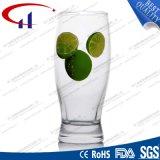 240ml SGS 표준 도매 인쇄된 유리제 물 컵 (CHM8182)