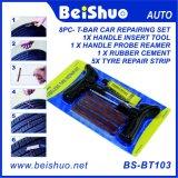 Outil rapide de nécessaire de réparation de fiche de crevaison de pneu de pneu sans chambre de véhicule de moto
