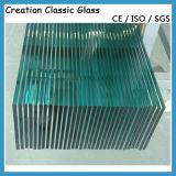Vidro Tempered para a placa de estaca de vidro de /Glass do chuveiro com certificação