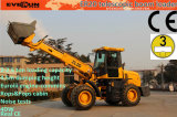 Rops&Fops CabinのセリウムApproved 2 Ton Telescopic Bucket Loader