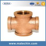 La société chinoise fournit des pièces en fonte moulante en laiton de bonne qualité