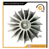 Отливка Inconel разделяет колеса турбины для турбонагнетателя двигателя дизеля