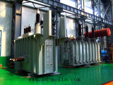transformateur d'alimentation de distribution des enroulements 110kv deux