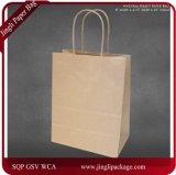"""8개의 """" X4.75 """" X10 """" 브라운 Kraft 종이 봉지 95% 포스트 소비자 물자 & Fsc는, 브라운 Kraft 종이 봉지, 물색 종이 봉지 증명했다"""