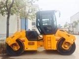 10 Junma hydraulische doppelte Trommel-der Vibrationsstrecke-Tonnen Rollen-(JM810H)