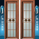 Fabricante de China Foshan (lugar original chino de Kongfu) de puerta de aluminio