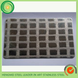Parede Decoration Panel Wholesale 201 1.2mm Embossed Stainless Steel Sheet 0.4mm Mirror Embossed Stainless Steel Sheet