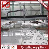 Laser-Wasser-Ausschnitt-lochendes Verbiegen, Edelstahl-kupfernes Aluminiumstahlblech aufbereitend