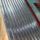 Le mattonelle di tetto ondulate hanno galvanizzato la lamiera di acciaio