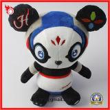 Giocattolo olimpico su ordine del panda della peluche della mascotte per il regalo