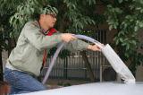 PVC recubierto de tela impermeable para el tanque de agua