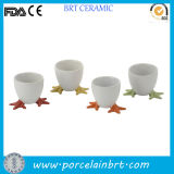 Christams Gift Breakfaset Tableware Moustache Design Chicken Egg Cup / Holder