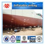 Sac à air en caoutchouc gonflable marin de récupération