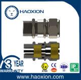 Presse-étoupe de câble anti-déflagrant d'acier inoxydable avec Atex