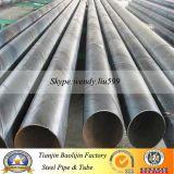 Tubo d'acciaio a spirale saldato dell'arco sommerso del doppio di Dsaw