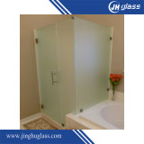 3-19mmは浴室のための酸の腐食の緩和されたガラスを曲げた