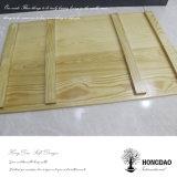 Hongdao Wein-Kasten 6X1 flaches hölzernes Box_F