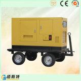 Generator van de Dieselmotor van de Stroom 250kVA 200kw van de Aanhangwagen van China de Stille