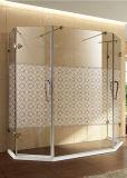 シャワーの芸術の緩和された建物パターンペンキの装飾的なガラスドアのWindowsの芸術