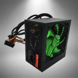 350W 까만 쉘 및 빨간 팬 PC ATX 전력 공급