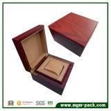 Lacado Caja de almacenamiento de madera del reloj con la almohadilla
