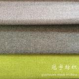 Polyester de toile d'imitation et tissu de sofa composé par nylon