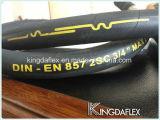Mangueira hidráulica de borracha trançada do fio (RUÍDO EN857 2SC)