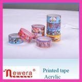 Cinta auta-adhesivo del embalaje del precio competitivo BOPP con insignia de la compañía