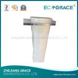 Sac résistant de filtre de tissu de Nomex de température élevée